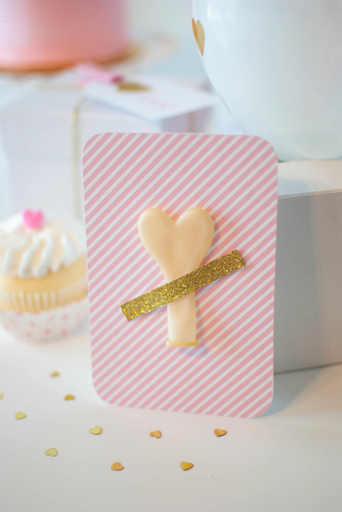 Pink & Gold Valentine's Day Party Ideas