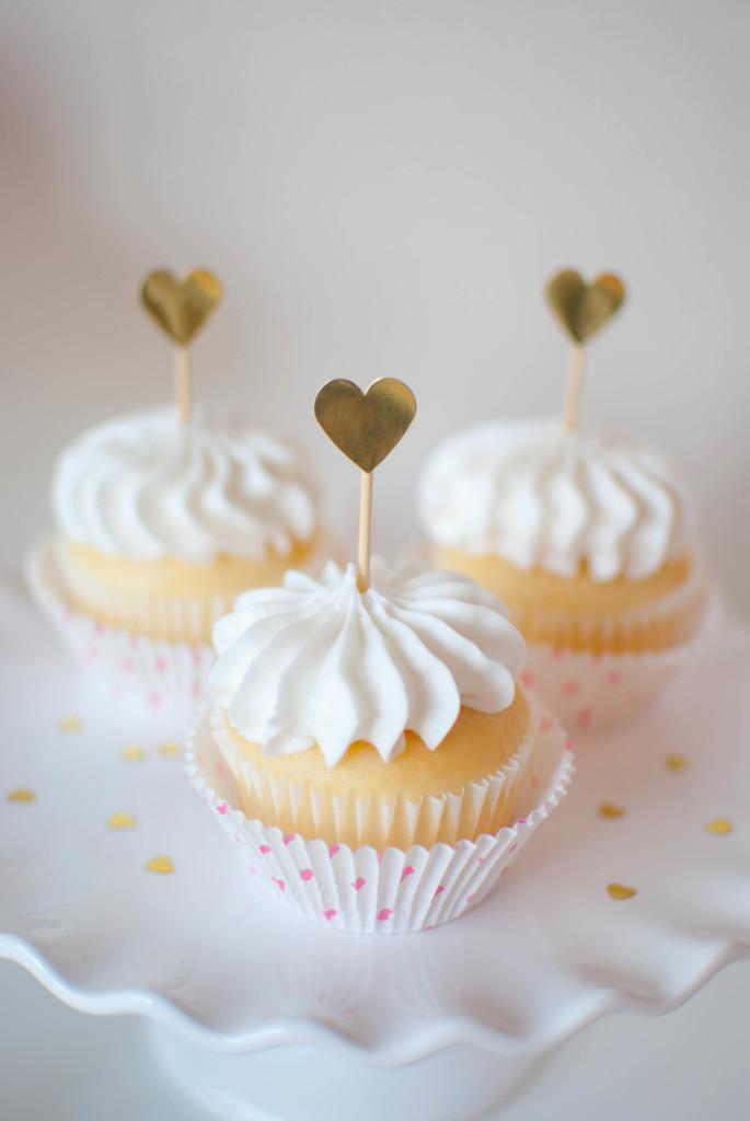 Valentine's Day Champagne Cupcake Recipe