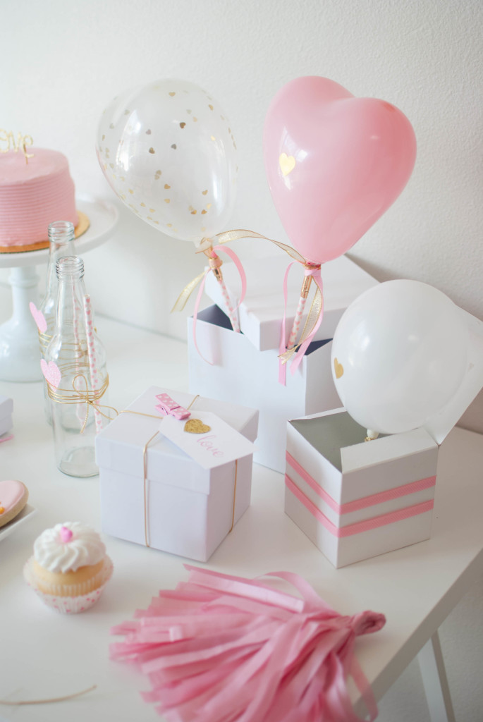 Pink Amp Gold Valentines Day Party Ideas