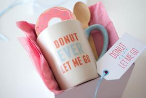 Donut Mug Gift Idea + Free Printables