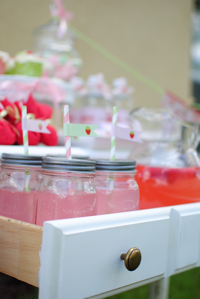 Strawberry Party by Twinkle Twinkle Little Party #strawberryparty #strawberryparty #partyideas