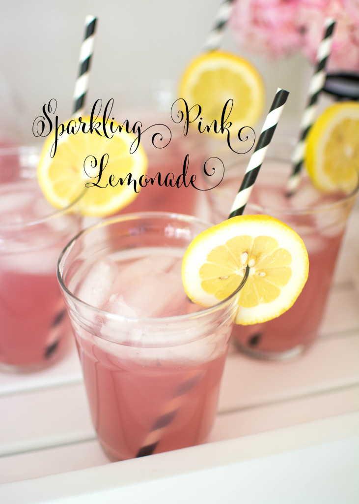 Sparkling Pink Lemonade Recipe