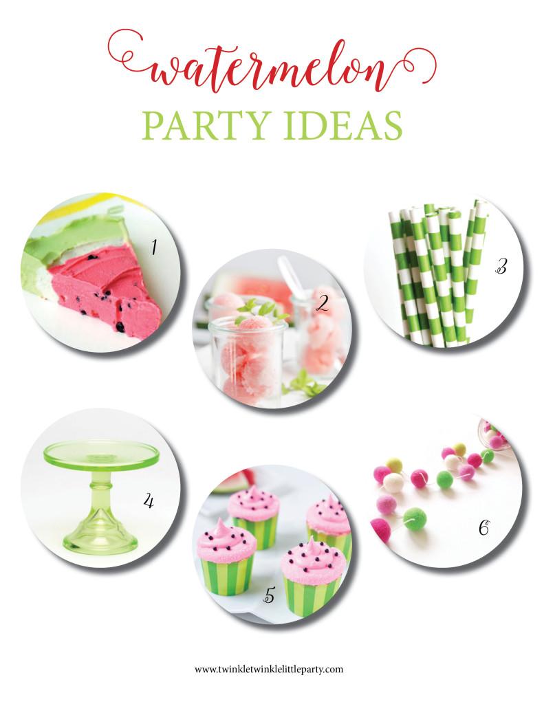 watermelon party board 2