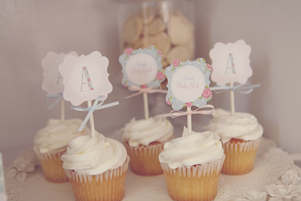 Shabby Chic Tea Party Baby Shower