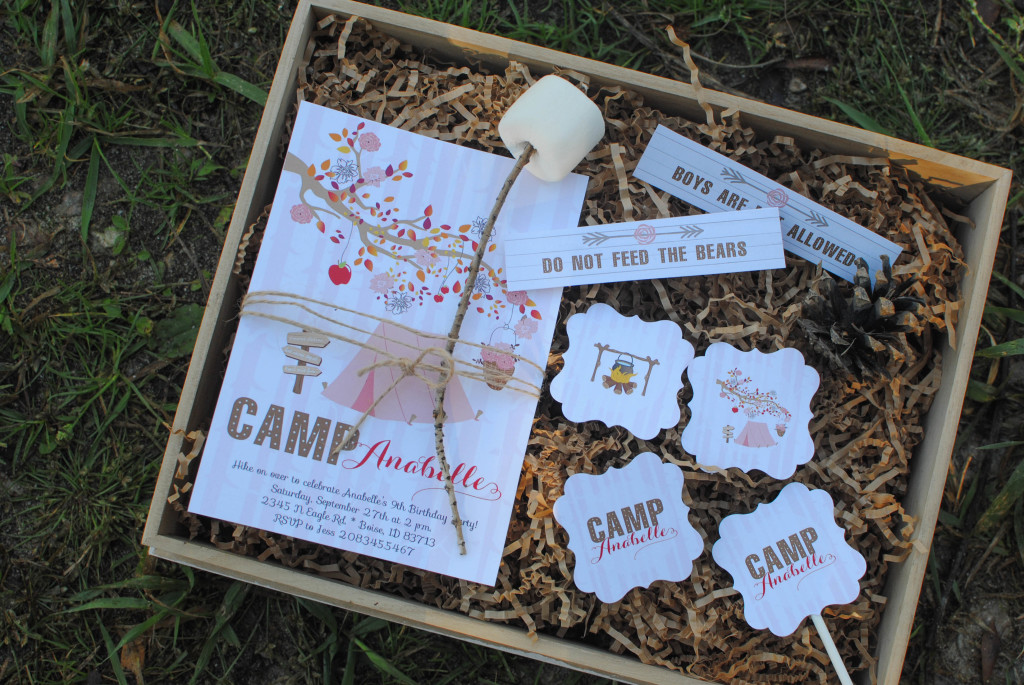 Fall Camping Party Ideas