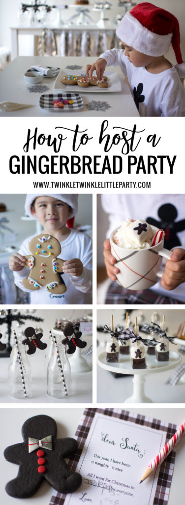 Gingerbread Party Ideas + Free Printables