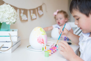 Easter Kids Decorating Party