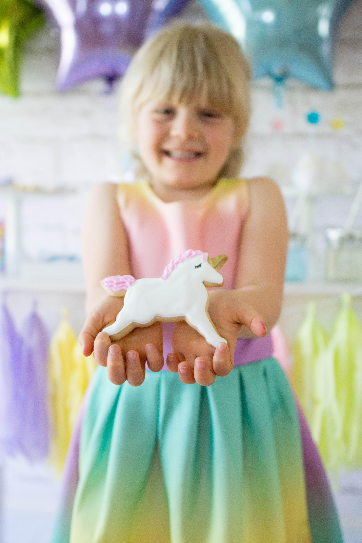 Rainbow Unicorn Party for Tiny Prints