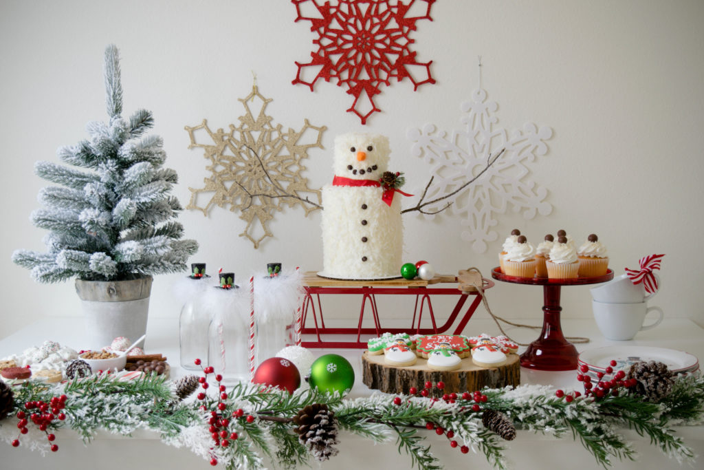'Let It Snow' Snowman Holiday Party