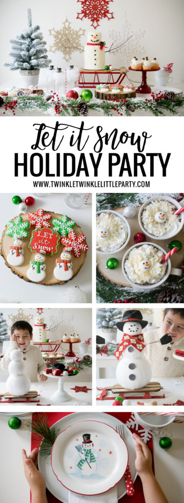 Host a Let it Snow Holiday Party