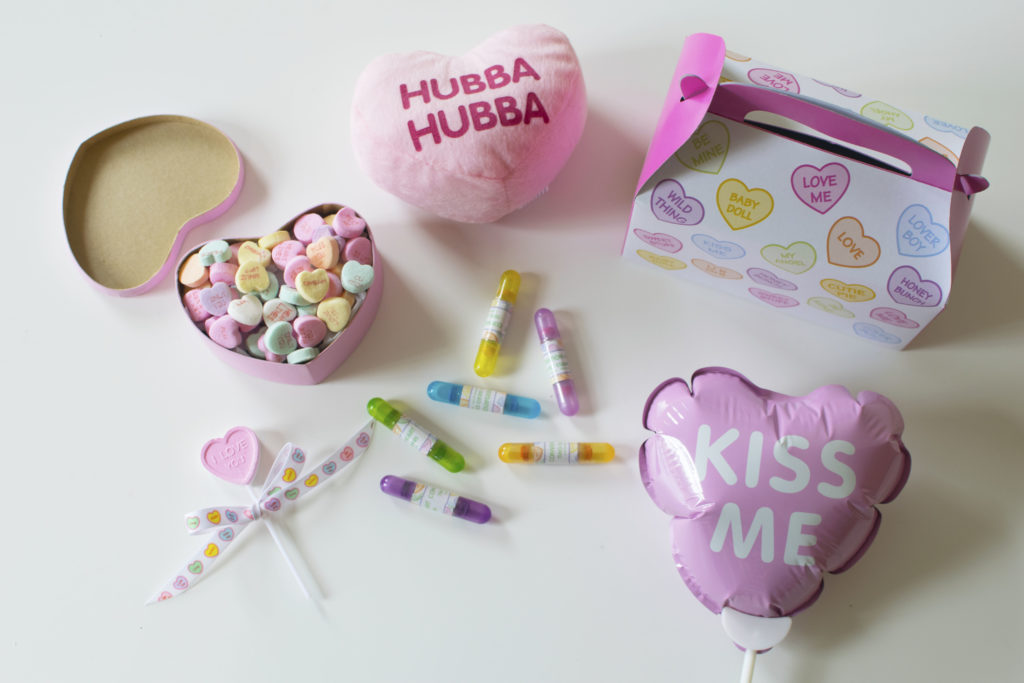 Conversation Hearts Themed Party