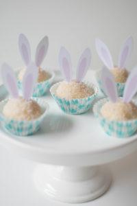 Easter Bunny Gourmet White Chocolate Brigadeiros