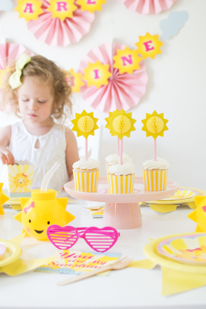 Host an adorable 'You are my Sunshine' Party