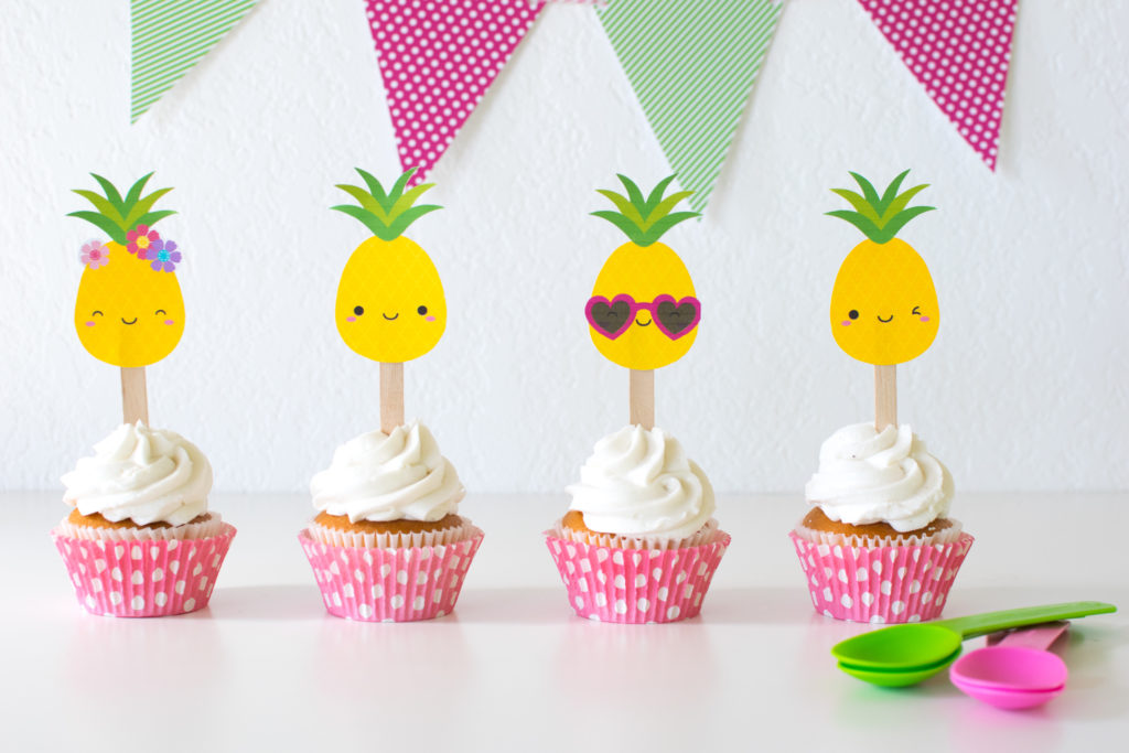 'Party like a Pineapple' Party Ideas + FREE printables