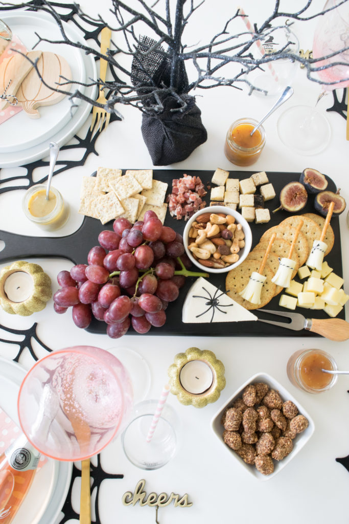 Cheers, Witches! How to host a Wine & Cheese Girls' Night In for Halloween