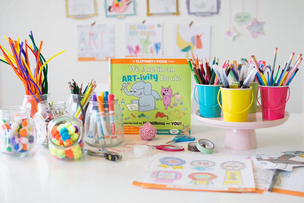 Elephant & Piggie Art Party with Disney Books