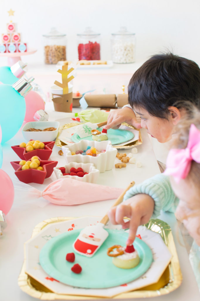 Host a Kids Holiday Cookie Decorating Party
