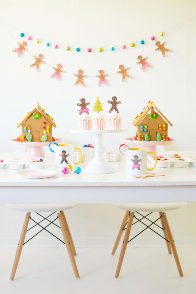 A Gingerbread House Decorating Party - A Holiday Tradition