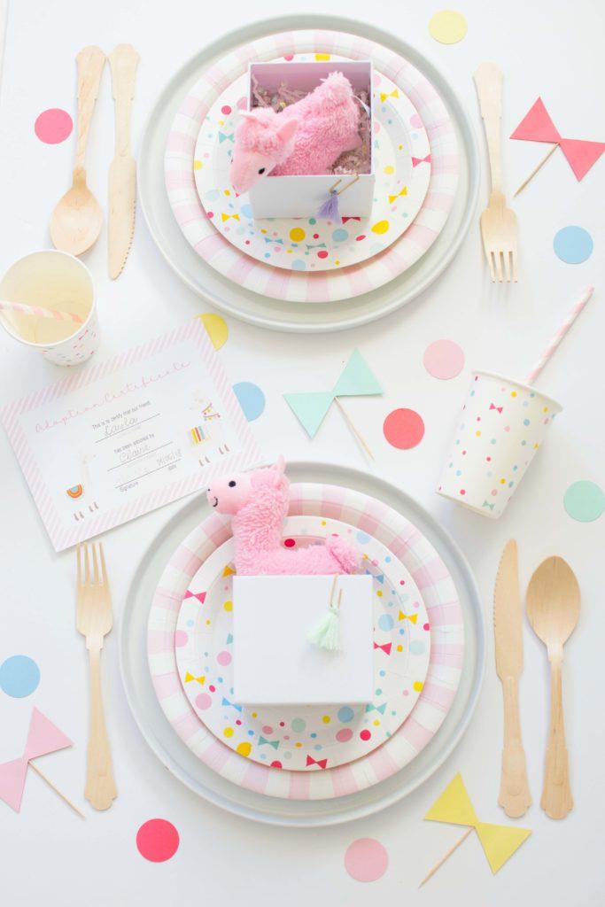 Throw an adorable 'Adopt a Llama' themed Birthday Party