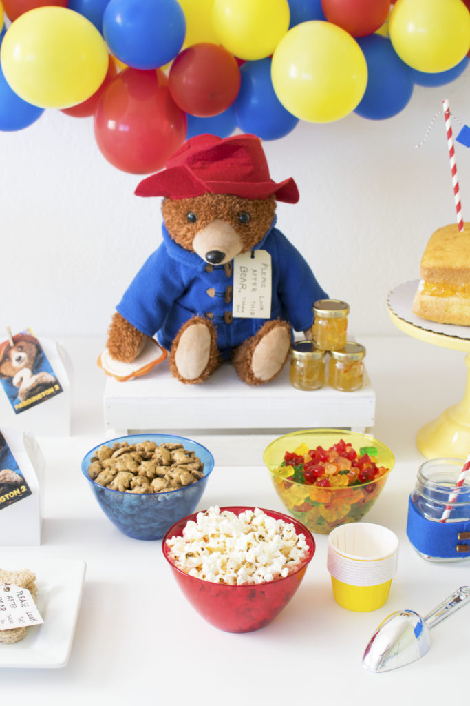 How to throw an adorable Paddington Themed Party #Paddington #Paddington2 #PaddingtonParty
