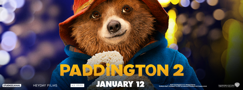 Paddington 2 In Theaters #paddington2 #paddingtonthemovie