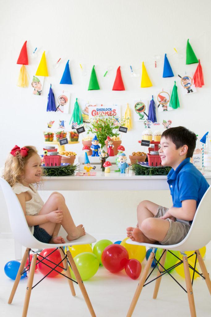 Host a Sherlock Gnomes Party for the Kids #Sponsored #SherlockGn