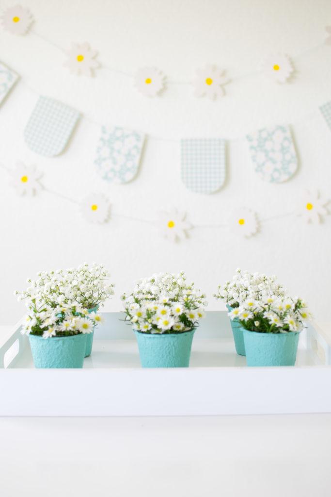DIY Mini Flower Pots