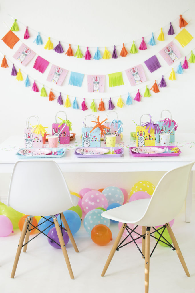 How To Throw a Colorful Llama Party