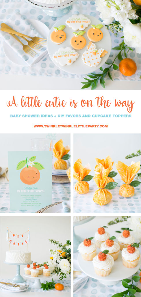 """How to host """"A little cutie is on the way' Baby Shower"""