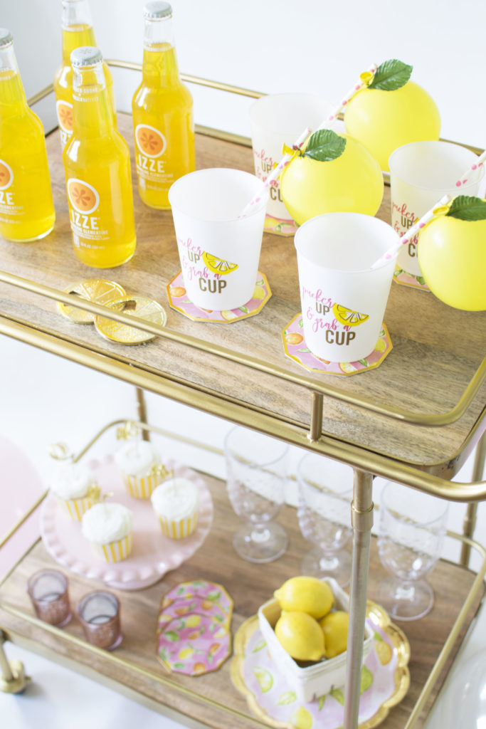 How to host a Casual Summer Bridal Shower or Bachelorette Party