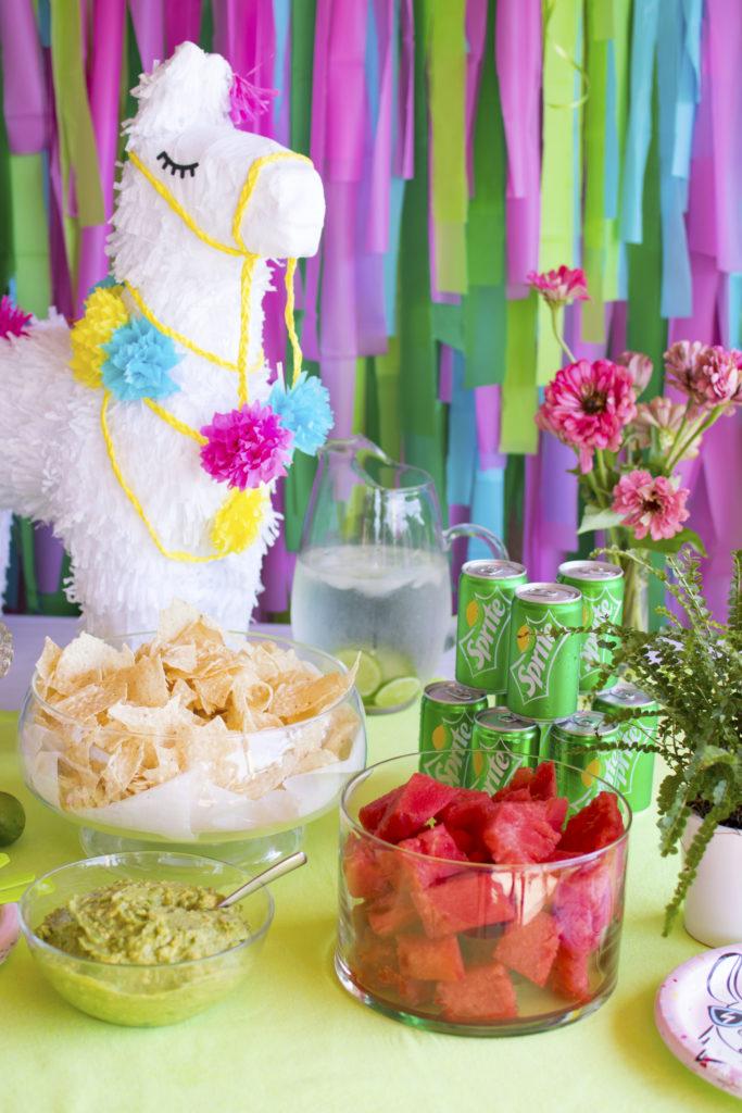 {Submission} A Festive Llama Birthday Party