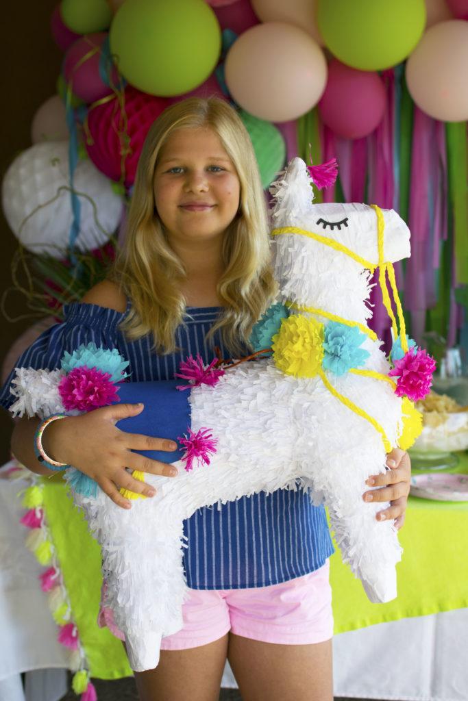 A festive llama inspired birthday party - Fiesta Taco Bar Inspiration