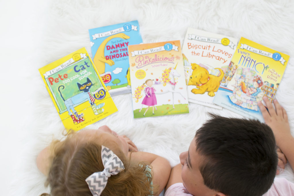 How to make reading fun for the kids and a Back to School Giveaway