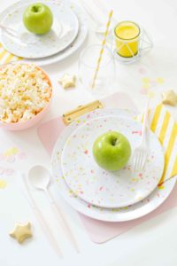Quick & Easy Back to School Tablescape