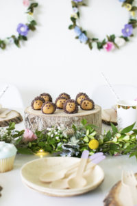Make These Adorable Hedgehog Donut Holes