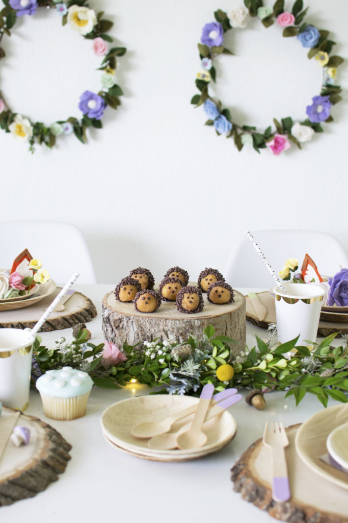 Make These Adorable Hedgehog Donut Holes