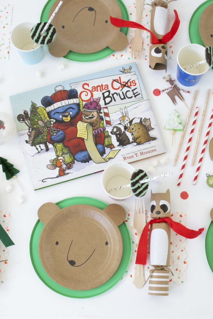 Christmas comes early: Santa Bruce Inspired Kids Tablescape