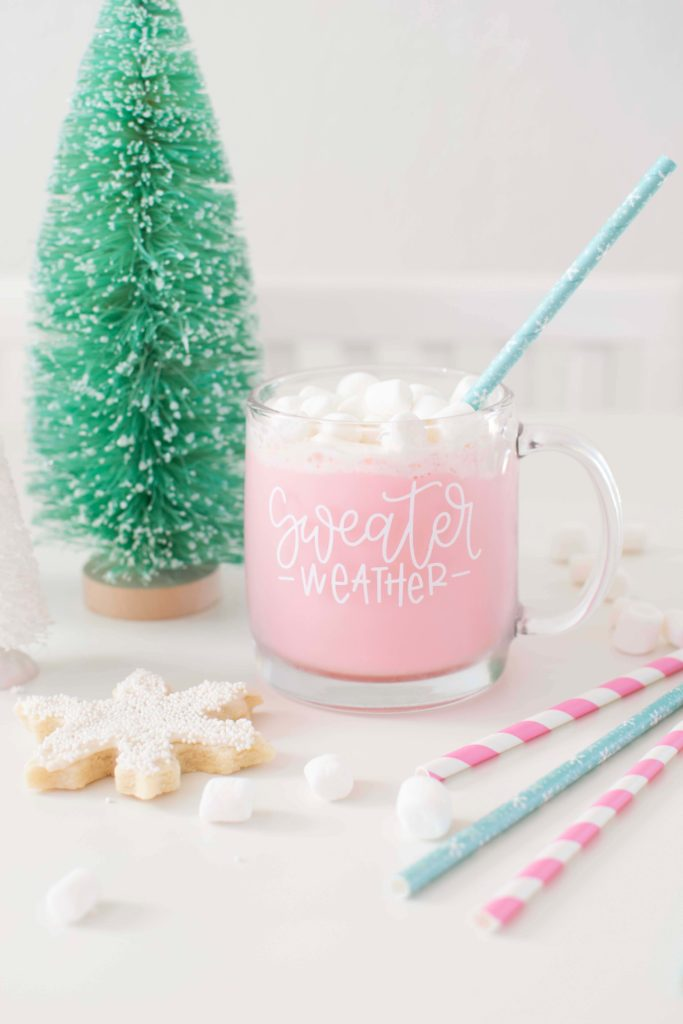My Favorite Pink Hot Cocoa