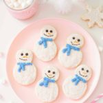 Bake and Decorate you own Snowman Cookies