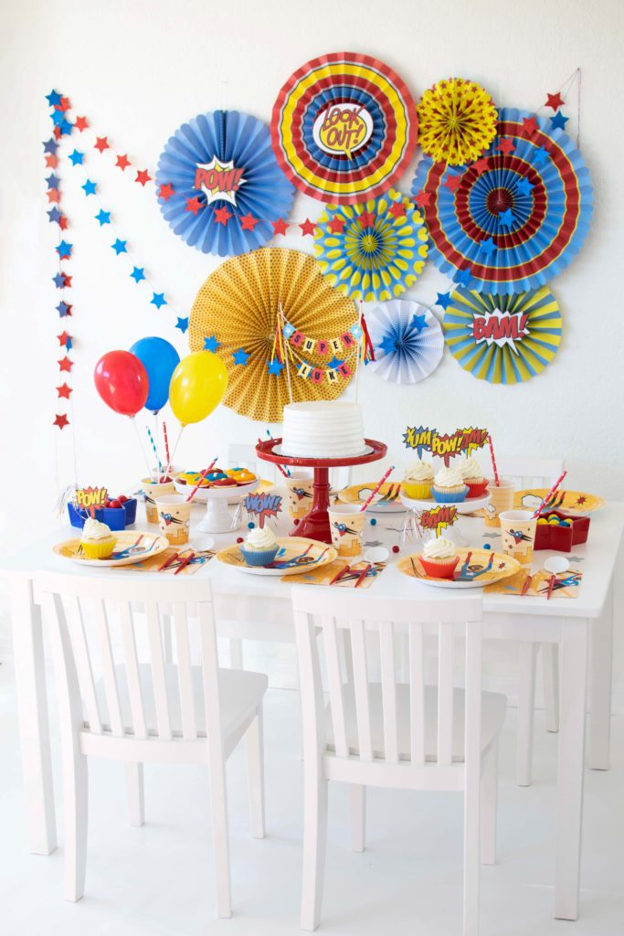 Celebrating children of color: How to Host a Super Hero Party