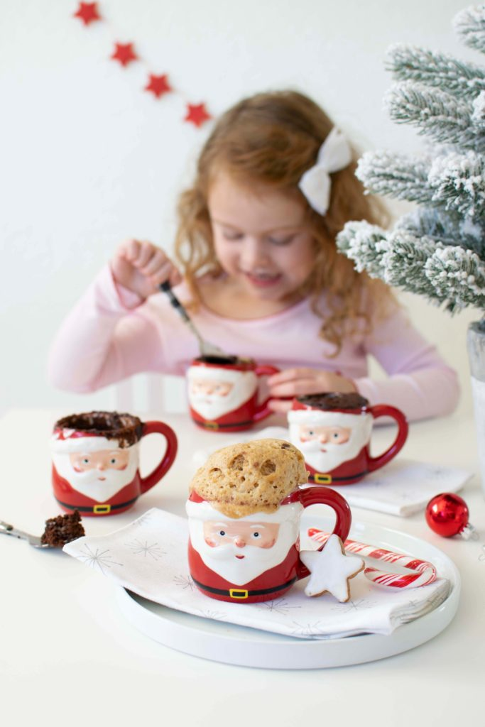 Santa Mug Cakes Our Newest Favorite Holiday Treat