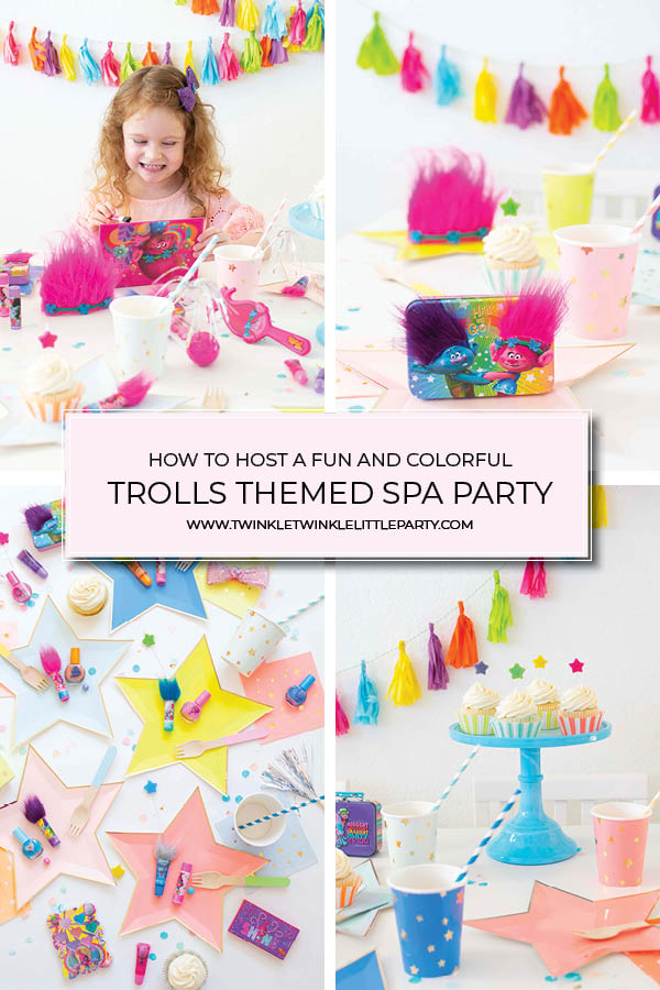 Host a Colorful Trolls Party