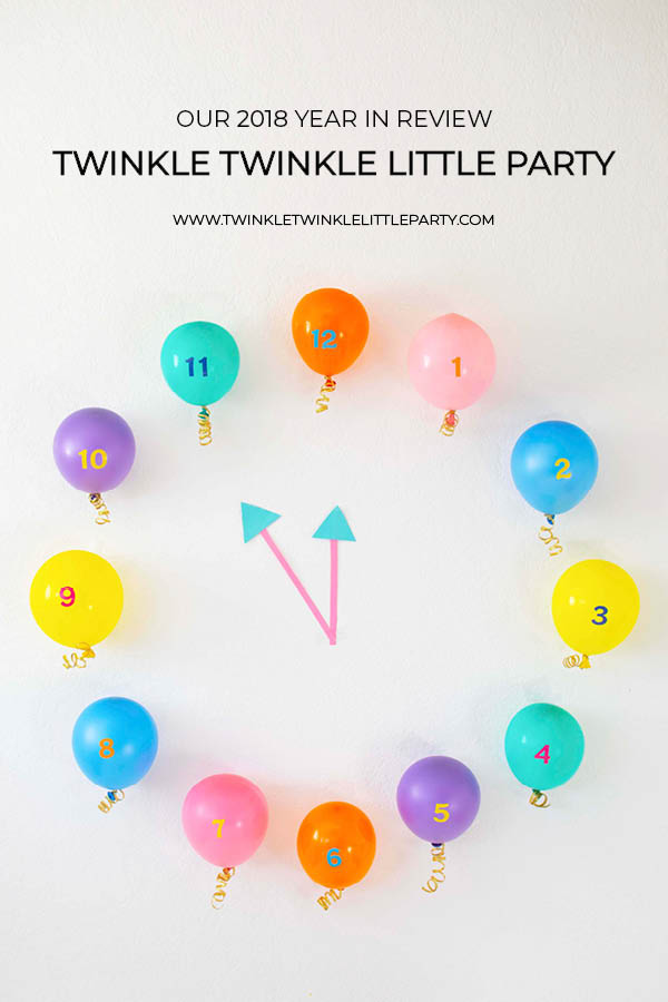 TWINKLE TWINKLE LITTLE PARTY 2018 YEAR IN REVIEW