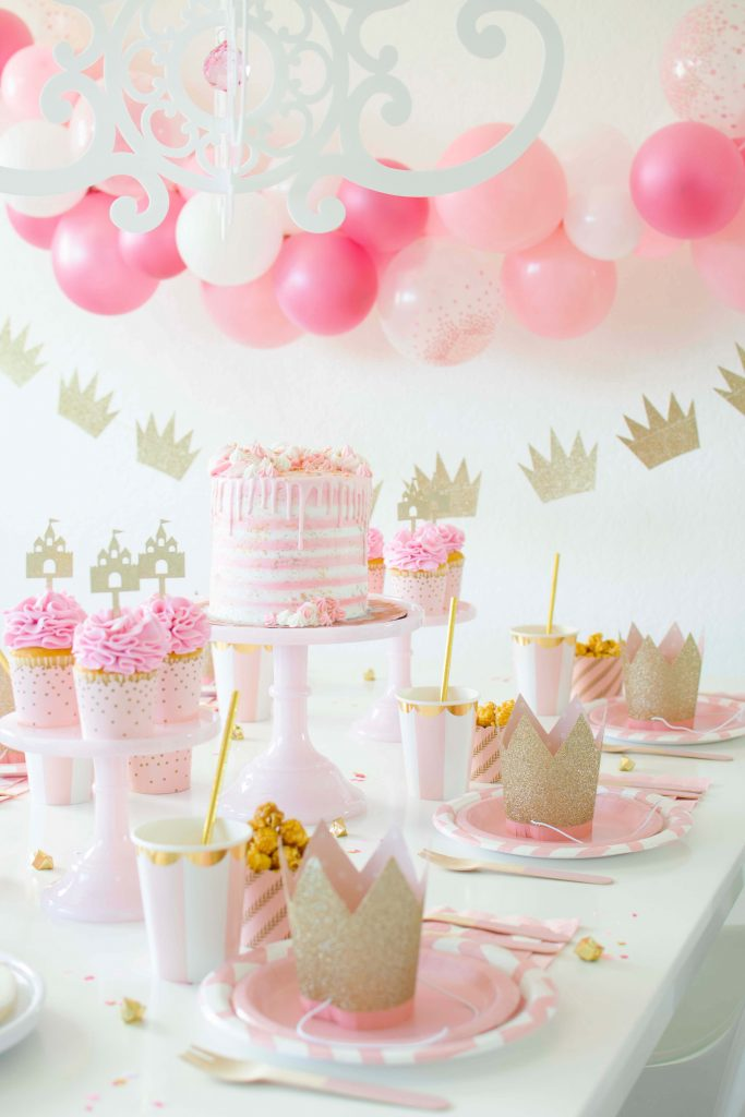 A Sweet Pink & Gold Ballerina/Princess Inspired Party
