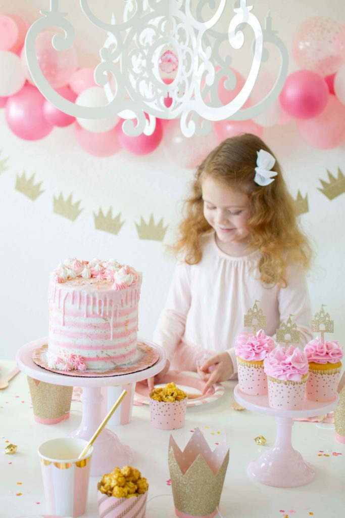 Pink & Gold Ballerina/Princess Inspired Party