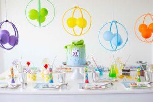 A Modern Mad Scientist Birthday Party