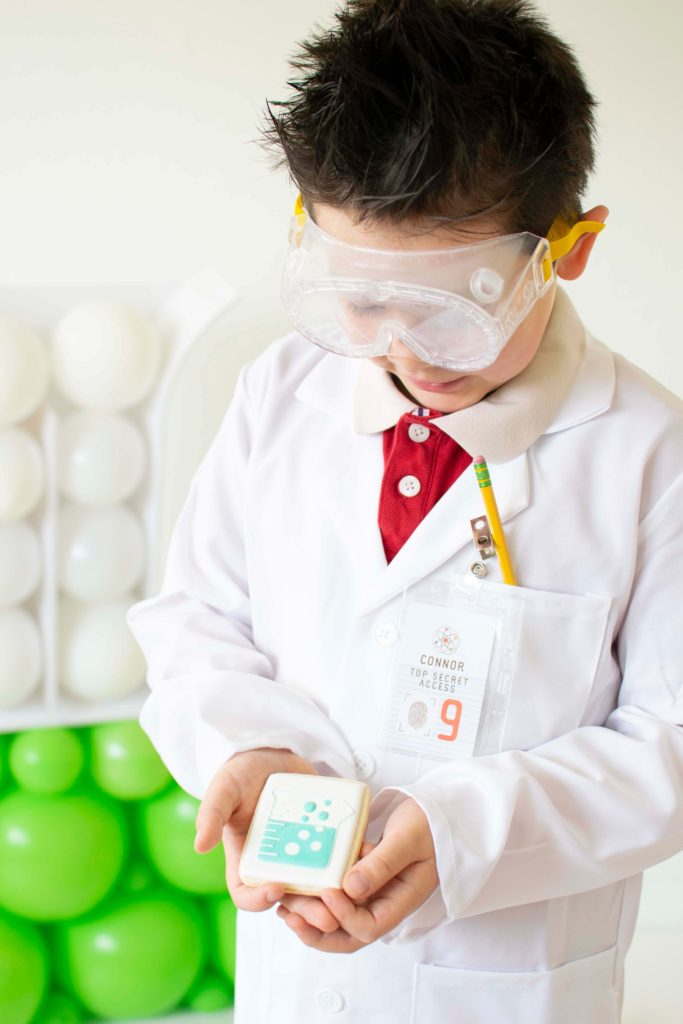 A Modern Mad Science Birthday Party