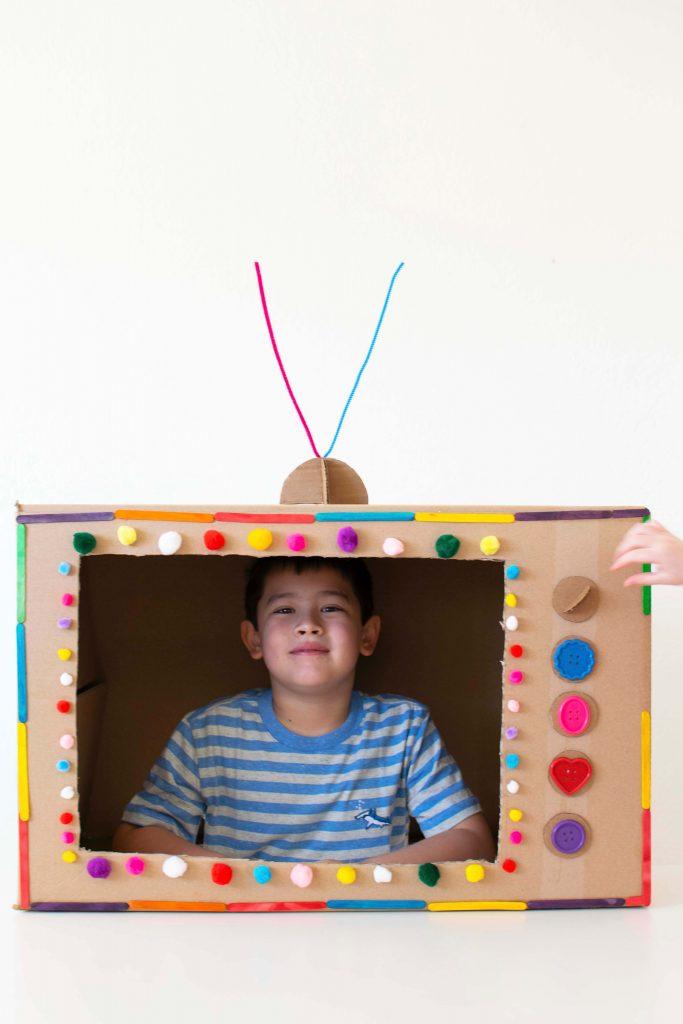 Wonder Park Movie Inspired Kids Cardbox Creation