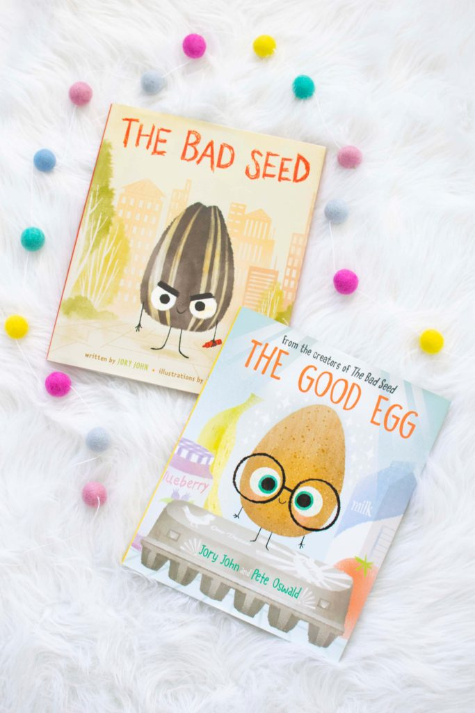 The Good Egg & The Bad Seed - books my kids are loving it at the moment!