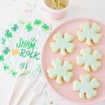 Saint Patrick's Day Shamrock Sugar Cookies